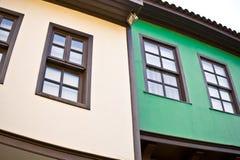 Ottoman houses Royalty Free Stock Image