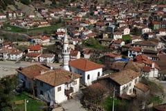 Ottoman houses in Tarakli. Traditional Ottoman houses in Tarakli, Turkey Royalty Free Stock Photography