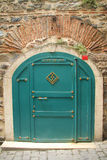 Ottoman iron door Royalty Free Stock Images