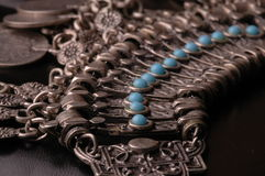 Ottoman Jewelry 2. Ottoman jewelry, also known as Cleopatra jewelry, with turquoise stones royalty free stock image