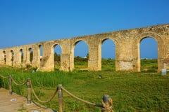 Ottoman Kamares Aqueduct Royalty Free Stock Photo