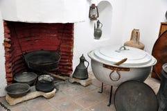 Ottoman kitchen. Old utensil in an ottoman kitchen Stock Photos
