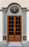 Old ottoman door. With tugra place Royalty Free Stock Images
