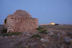 Ottoman mosque at Rethymnon in fortress Fortezza Stock Photos