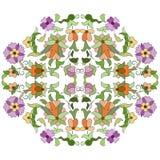Ottoman motifs design series eighty eight Stock Image