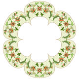 Ottoman motifs design series eighty six. Old motifs created with an artistic background Royalty Free Stock Photos