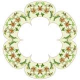 Ottoman motifs design series eighty six Royalty Free Stock Photos