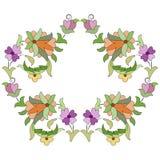 Ottoman motifs design series eighty three. Versions of Ottoman decorative arts, abstract flowers Stock Photos