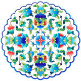 Ottoman motifs design series fifty nine. Versions of Ottoman decorative arts, abstract flowers Stock Photo