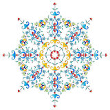 Ottoman motifs design series with fifty-two. Studied composition with Ottoman motifs Stock Images