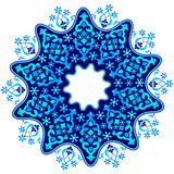 Ottoman motifs design series with forty-four. Studied composition with Ottoman motifs Stock Images