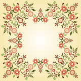 Ottoman motifs design series ninety five. Versions of Ottoman decorative arts, abstract flowers Stock Photography