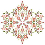 Ottoman motifs design series ninety four. Versions of Ottoman decorative arts, abstract flowers Royalty Free Stock Images