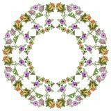Ottoman motifs design series seventy nine Royalty Free Stock Photos