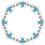 Ottoman motifs design series sixty four. Decorative frame pattern drawn in the old style Stock Images