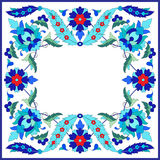 Ottoman motifs design series sixty nine Stock Photo