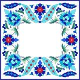 Ottoman motifs design series sixty nine. Versions of Ottoman decorative arts, abstract flowers Stock Photo