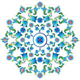 Ottoman motifs design series sixty one. Versions of Ottoman decorative arts, abstract flowers Royalty Free Stock Images