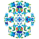 Ottoman motifs design series sixty Stock Photos