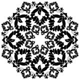 Ottoman motifs design series with thirteen. Versions of Ottoman decorative arts, abstract flowers Stock Photo