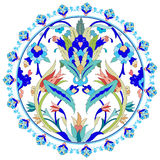 Ottoman motifs design series with twenty. Series of patterns designed by taking advantage of the former Ottoman Stock Photo