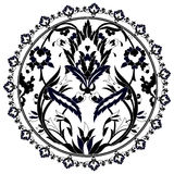 Ottoman motifs design series with twenty version Stock Photos