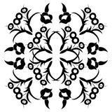Ottoman motifs. Ornament and design Ottoman decorative arts Royalty Free Stock Photos