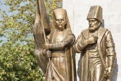 Ottoman Pasha And Janissary Stock Image