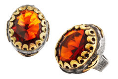 Ottoman ring Royalty Free Stock Image