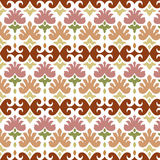 Ottoman seamless pattern 02 Royalty Free Stock Photo