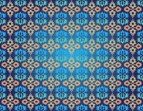 Ottoman seamless pattern one. Studied traditional oriental seamless pattern with floral motifs stock illustration