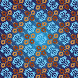 Ottoman seamless pattern version. Studied traditional oriental seamless pattern with floral motifs Royalty Free Stock Photo