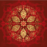 Ottoman seamless wallpaper illustration Royalty Free Stock Photos