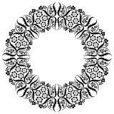 Ottoman style pattern. An ottoman style pattern illustration on white background Royalty Free Stock Photos