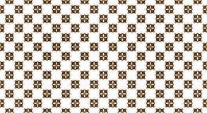 Ottoman style wallpaper pattern and shape. On white Stock Photo