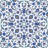 Ottoman tiles royalty free stock images
