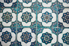 Ottoman Tiles. A beautiful ancient ottoman tiles Royalty Free Stock Photo