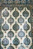 Ottoman Tiles. Beautiful ancient ottoman tiles art Stock Photos