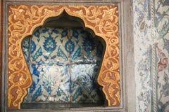 Ottoman Tiles. Beautiful ancient ottoman tiles art Royalty Free Stock Photos