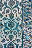 Ottoman Tiles. Beautiful ancient ottoman tiles on a background Royalty Free Stock Photo