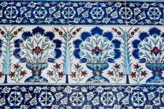 Ottoman Tiles Royalty Free Stock Photos