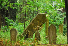 Ottoman Tombstones Royalty Free Stock Image