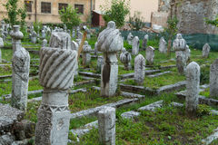 The Ottoman Tombstones Stock Image