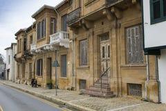 Ottoman Townhouses, Nicosia, Cyprus Royalty Free Stock Image