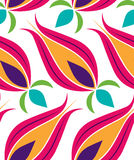 Ottoman Tulip Seamsless Pattern stock illustration