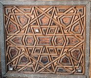 Ottoman Turkish art with geometric patterns. On surfaces Royalty Free Stock Images