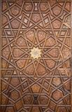 Ottoman Turkish art with geometric patterns. On surfaces Stock Images