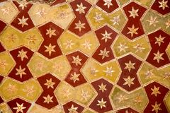 Ottoman Turkish art with geometric patterns. On surfaces Royalty Free Stock Photos
