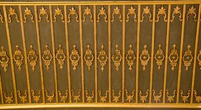 Ottoman Turkish art with geometric patterns. In view stock images