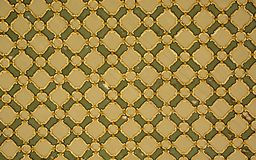 Ottoman Turkish  art with geometric patterns. In view Stock Photography